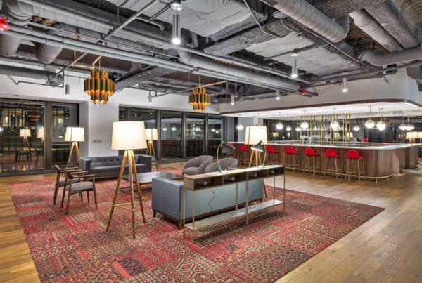 Wabash tenant lounge
